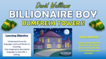 Billionaire Boy - Bumfresh Towers!