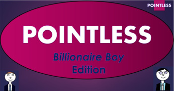 Billionaire Boy Pointless Game! (and template to create your own games!)