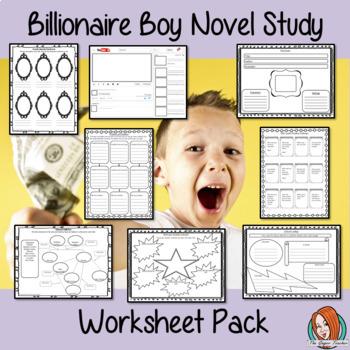 Billionaire Boy Worksheet Pack