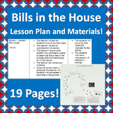 Congress: Bills in the House of Representatives Lesson Plan and Materials!