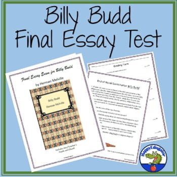 Thesis Statement For A Persuasive Essay Billy Budd Final Test  Essay Examination Thesis Statement Descriptive Essay also Last Year Of High School Essay Billy Budd Final Test  Essay Examination By Happyedugator  Tpt Custom Essay Paper