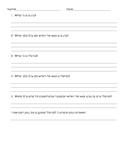 Billy Bully Worksheet