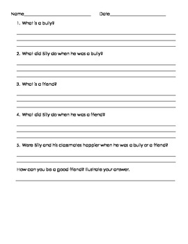 Bullying Worksheets Teaching Resources | Teachers Pay Teachers