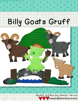Billy Goats Gruff {Bundled Graphics Set}