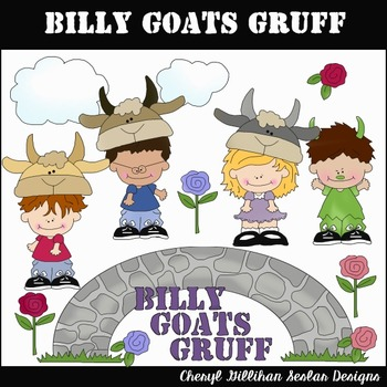 Billy Goats Gruff Clipart Collection