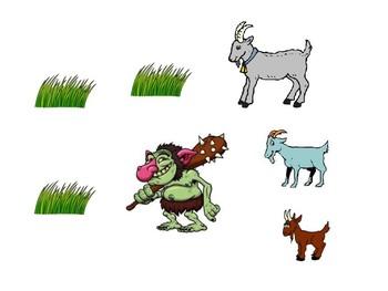 Billy Goats Gruff Interactive Visual