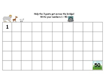 Billy Goats Gruff Math