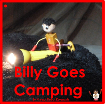 Billy Goes Camping: An Emergent Guided Reading Level 1 Billy Beginning Reader