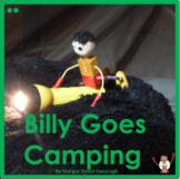 Billy Goes Camping Guided Reading Level 2 Beginning Reader and Writing Prompt