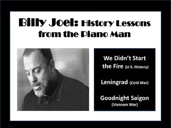 Billy Joel: History Lessons from the Piano Man