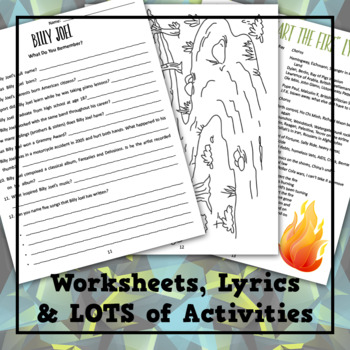 Billy Joel, The Piano Man Musical Lesson Plan