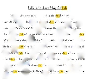 Billy and Jess Play Catch