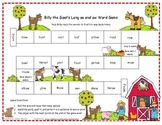 Billy the Goat's Long oa and ow Word Game RF.1.3, RF.2.3