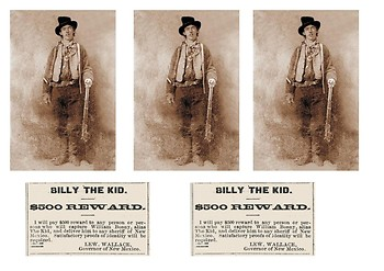 Billy the Kid Comic Strip and Storyboard