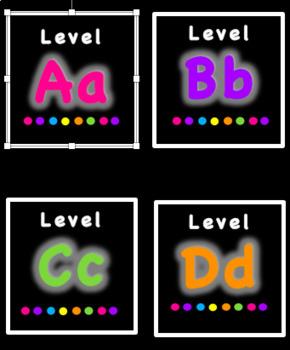 Bin Bin Labels A-X