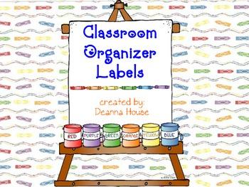 Bin / Cabinet / Drawer Labels