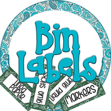 Bin Supplies Labels
