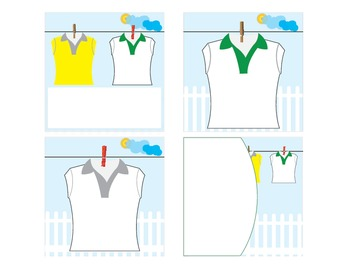 Bin and Table Labels Sport Shirt Theme