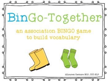 BinGo-Together: A Vocabulary Game of Associations