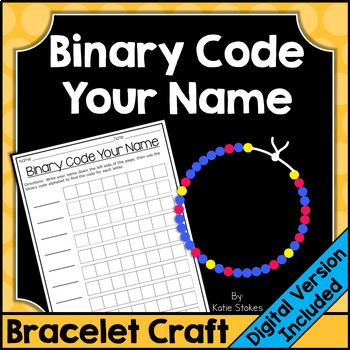Binary Code Your Name