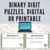 Computer Science Puzzles. Printable and Digital! #Distance