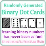 Binary Dot Cards - Randomly Generated!