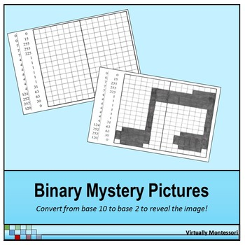 Binary Numbers Mystery Picture
