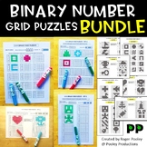 Binary Number Grid Puzzles Bundle - 140+ puzzles