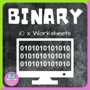 Binary Worksheet pack