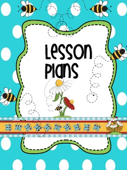 Binder Bee Bop Teacher Totebook