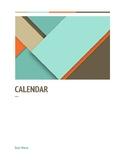 Binder Calendar - Tropic