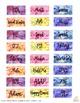 Binder Clip Labels:  Watercolor Theme (Editable)