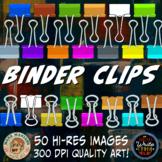 Binder Clips Clip Art
