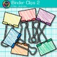 Binder Fastener Clip Art {Back to School Supplies for Clas