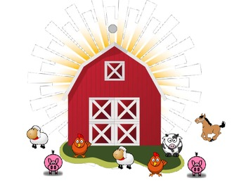 Interactive Farm Animal Counting Notebook
