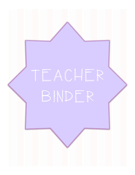 Binder Cover
