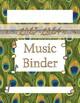 Binder Cover - Animal Print