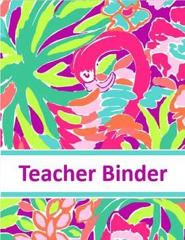 Binder Cover {Editable}