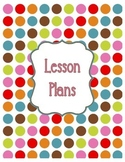 {Lesson Plan Binder Cover Freebie} Polka Dot