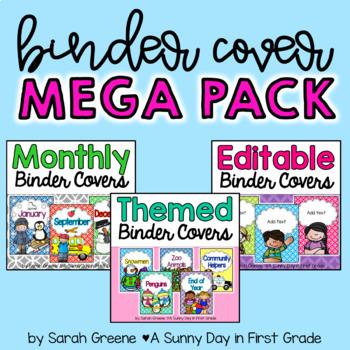 Binder Cover MEGA PACK!