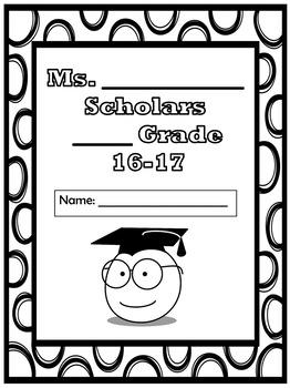 Binder Cover- Scholars