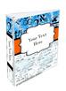 Binder Cover Set of 4 Editable Science Math Theme for Teacher Binders, Portfolio