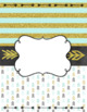 Binder Cover & Spines  *EDITABLE*