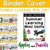 Binder Cover - Summer Learning Mini Unit