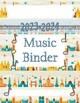 Binder Cover - Travel Theme - 2018-2019