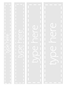 Binder Cover and Spine Labels Bundle - Editable*