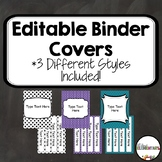 Binder Covers and Spines