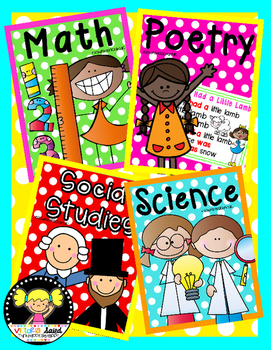 Binder Covers {12 Subjects}