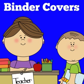 Binder Covers For Teachers