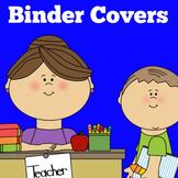 Teacher Binder Covers | Lesson Plan Binder Cover | Preschool Kindergarten 1st